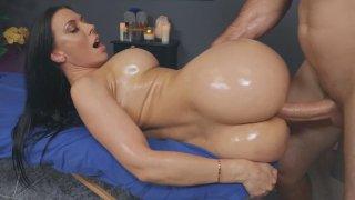 Bit of Rubbing Lot of Poking on Rachel Starr's Massage!