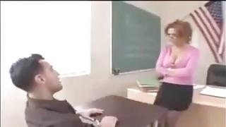 dirty boy have sex with bad teacher - Hotmoza.com