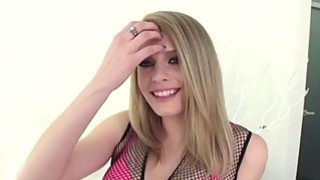 Hot chick Allie gets banged from behind