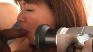 Mai Mariya getting her dirty cunt pleased with a vibrator