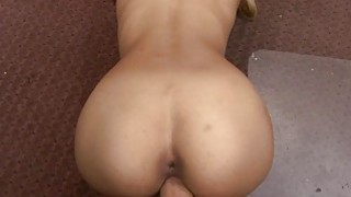 Small tits blond babe nailed by pawn guy